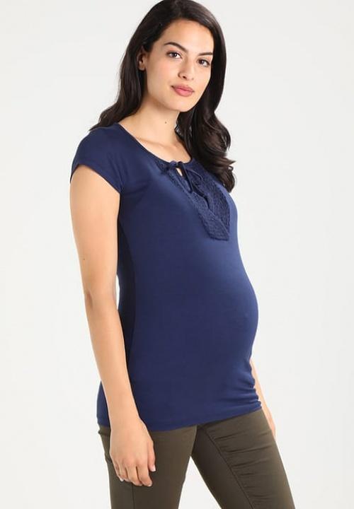 T-shirt bleu basique