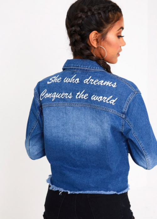 Veste en denim