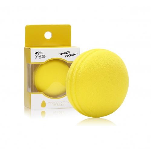 Beauty blender macaron jaune - Miss Gorgeous