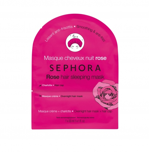 Sephora Collection - Masque cheveux / Rose : Lissant anti-frisottis