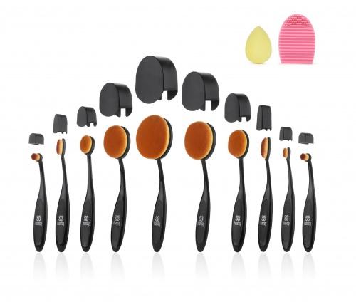 Kit de 10 Pinceaux à Maquillage Professionnels - Isassy