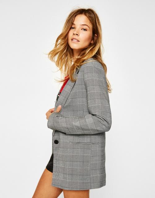 veste de tailleur gris