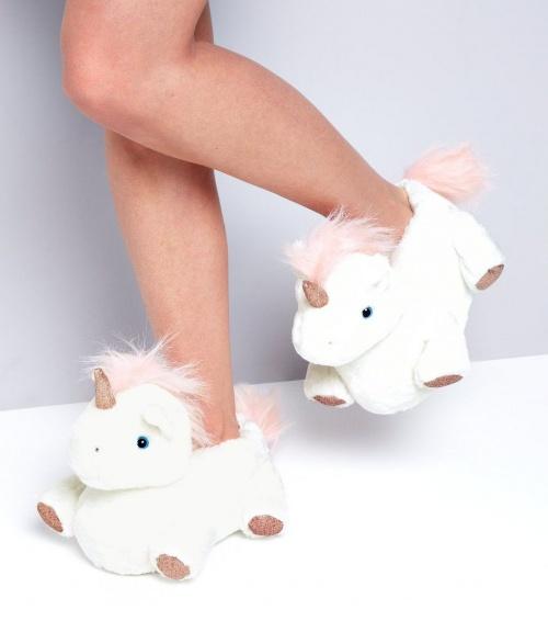 pantoufles licorne