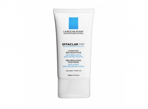 Effaclar Mat Hydratant sébo-régulateur Anti-brillance, anti-pores dilatés - La Roche-Posay