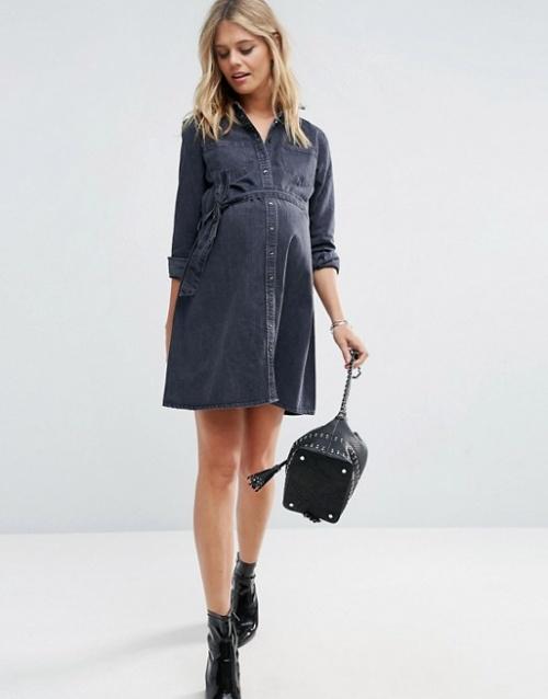 Asos Maternity - Robe chemise