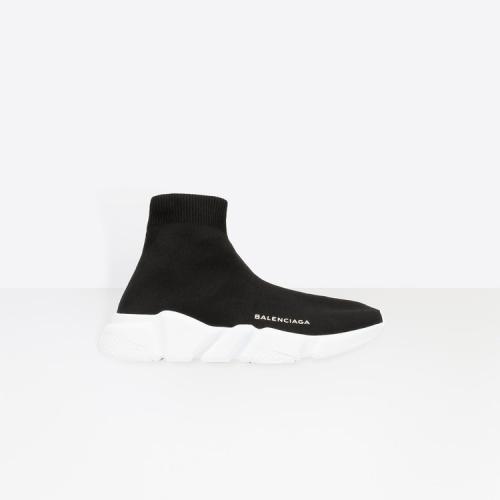 Balenciaga - Baskets chaussettes à semelle blanche