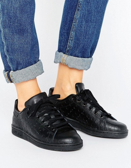 Adidas - Baskets Stan Smith noires