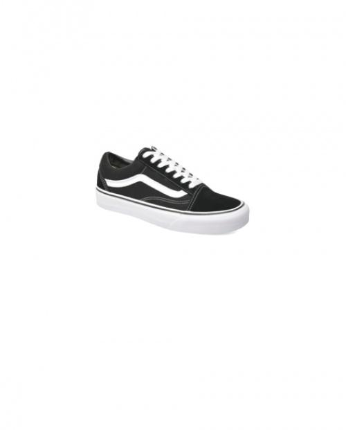 Vans - Baskets noires et blanches