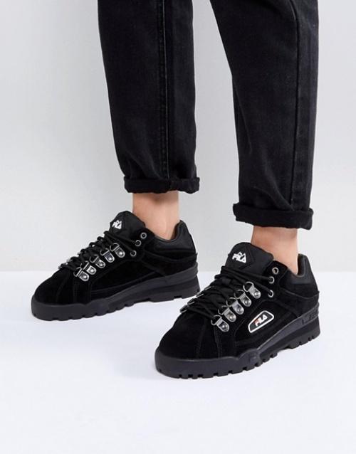 Fila - Baskets noires cloutées