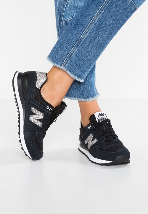 New Balance - Baskets noires