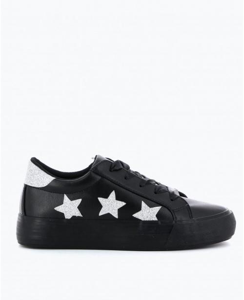 Texto - Baskets noires à étoiles