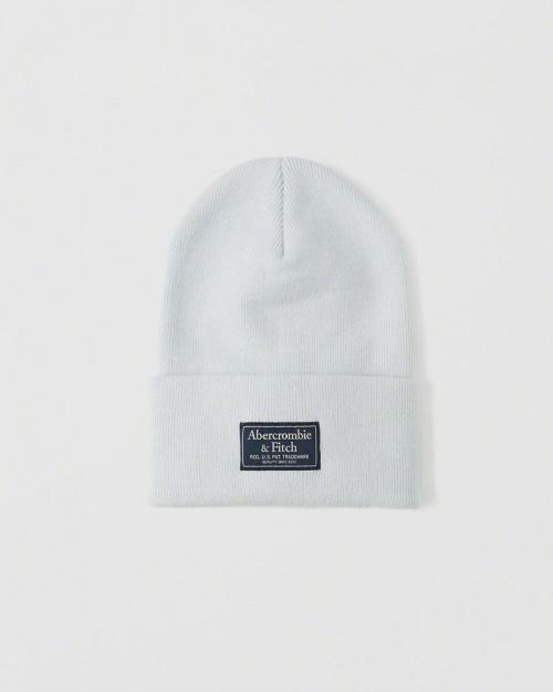 Abercrombie & Fitch - Bonnet blanc