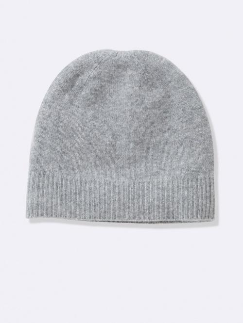 Cyrillus - Bonnet gris en cachemire