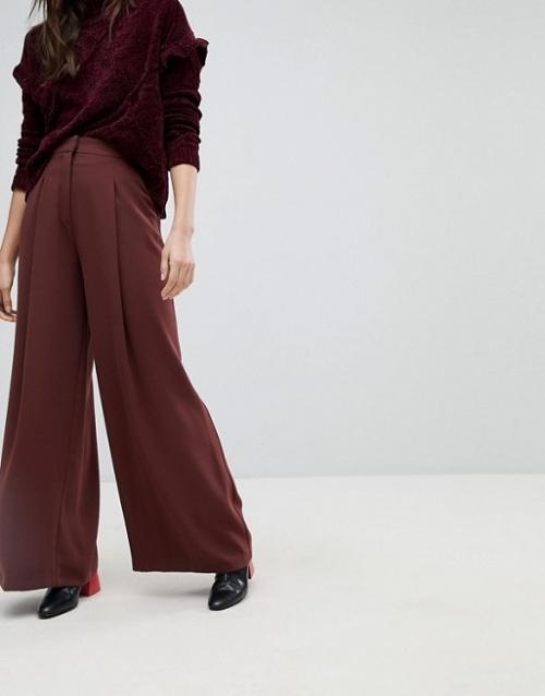 River Island - Pantalon de tailleur ample