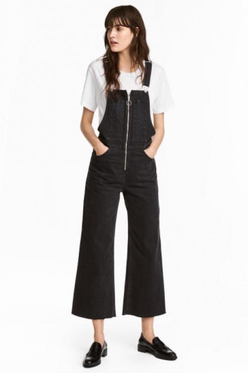 H&M - Salopette noir à zip