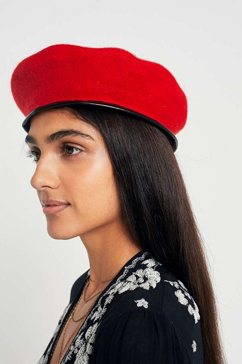 Urban Outfitters - Béret rouge