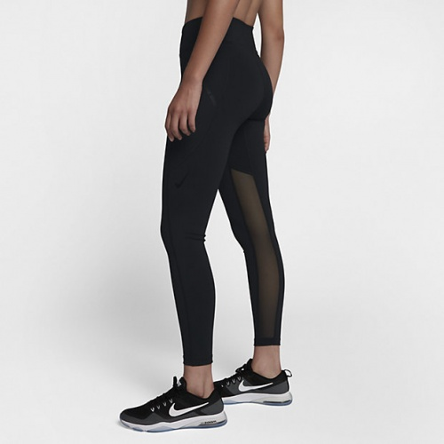 Nike - Tight de training noir transparent