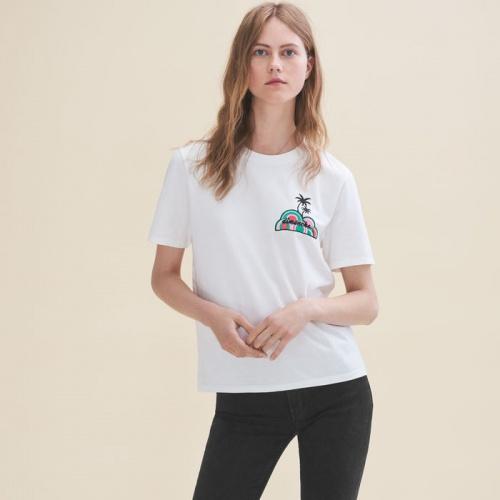 Maje - T-shirt