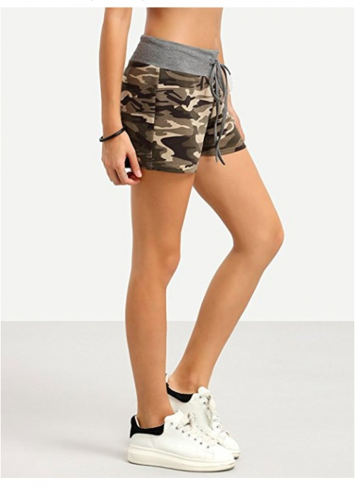 Short imprimé camouflage - Minetom