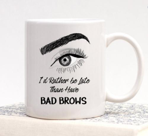 Mug - Bad Brows