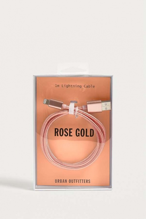 Urban Outfitters - Câble Lightning or rose