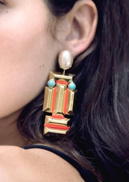 Tamarzizt - Boucles d'oreilles