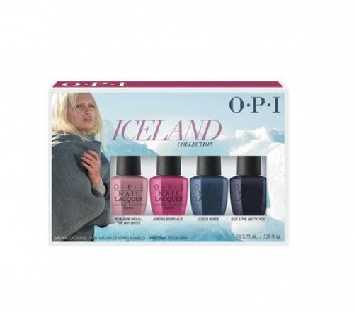 O.P.I - Mini kit - Collection Iceland