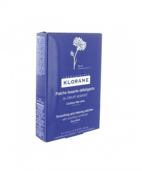 Klorane - Patch yeux défatiguant au bleuet