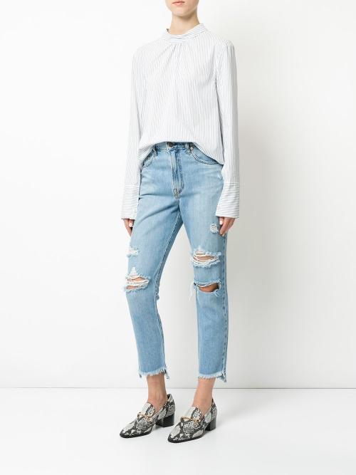 NOBODY DENIM - Jeans troué