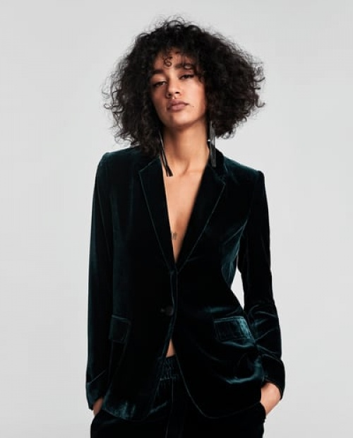 Zara - Veste en velours