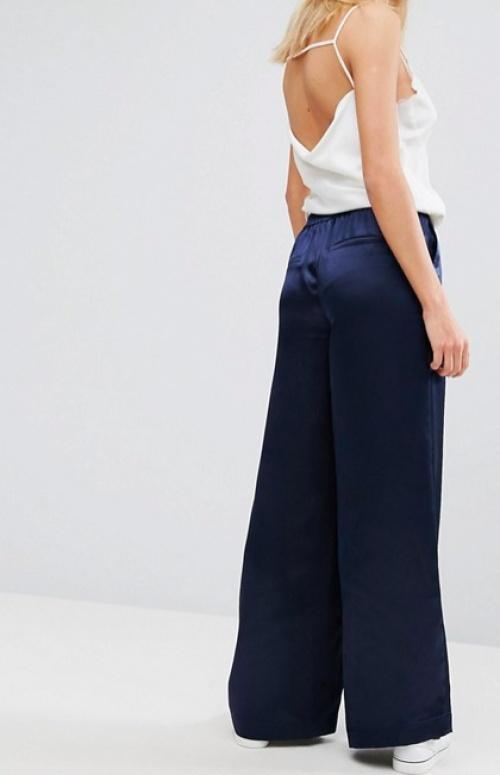 Moss Copenhagen - Pantalon en satin