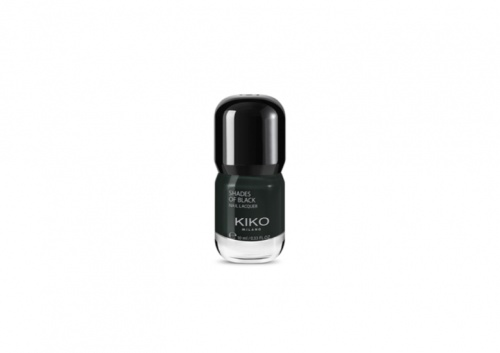 Shades of black nail lacquer