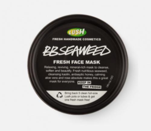 Lush - Masque frais visage - BB Seaweed