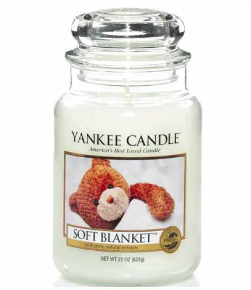 Bougie Jarre Soft Blanket - Yankee Candle