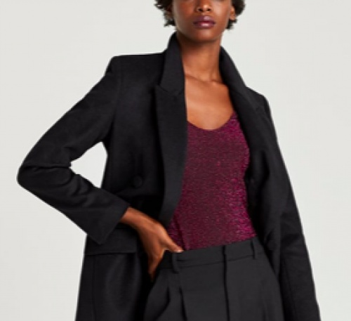 Zara - Body en maille brillante