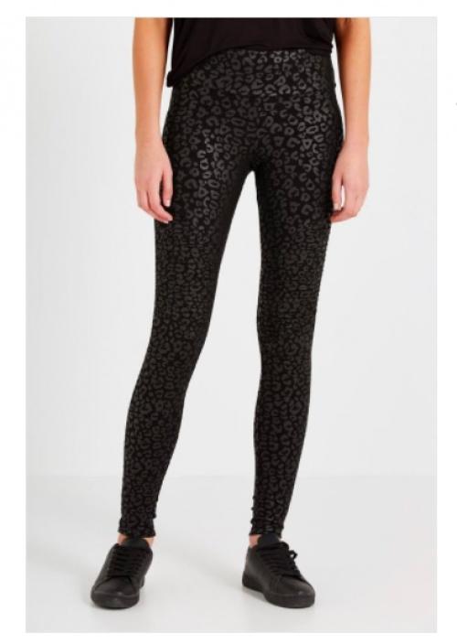Legging léopard noir - Cotton On