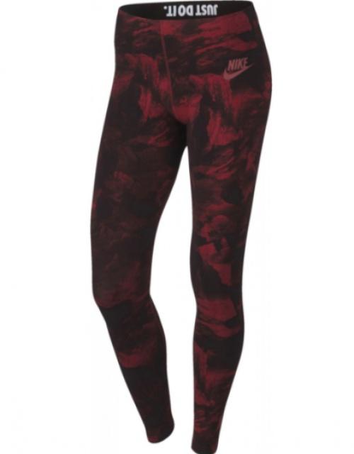 Legging estompé rouge - Nike