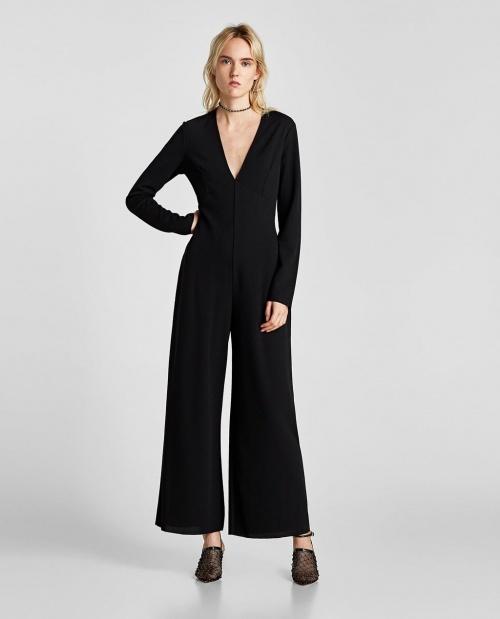 Zara - Combinaison à col en V