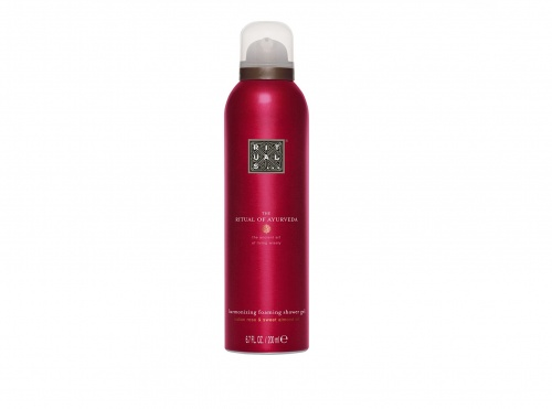 RITUALS - The Ritual of Ayurveda Foaming Shower Gel Rose des Indes & Huile D'amande Douce