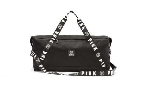 Sac de sport noir - Victoria's Secret Pink