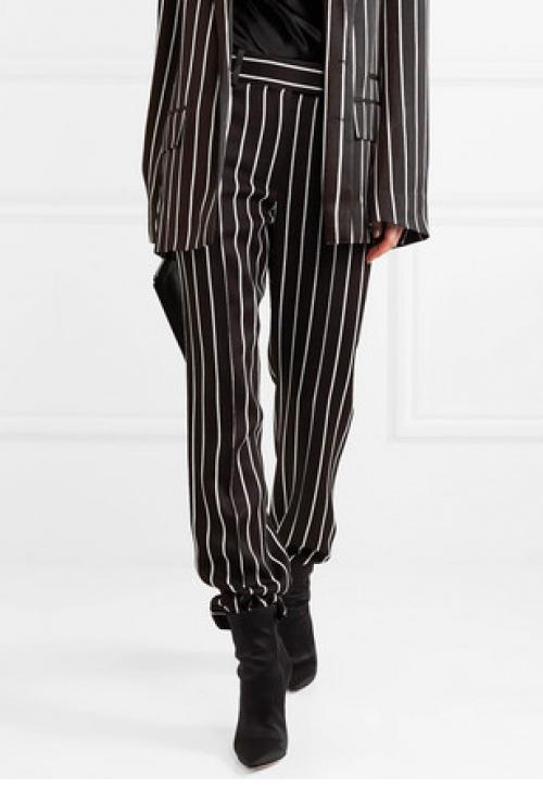 Haider Ackermann - Pantalon droit en satin à rayures