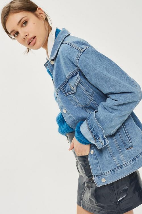 Topshop - Veste en jeans