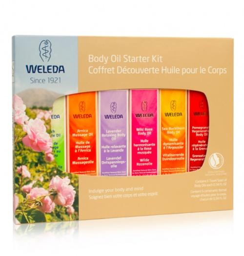Kit d'huile de massage - Weleda