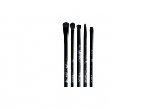 NYX - Dark, bold & smoky eye brush set