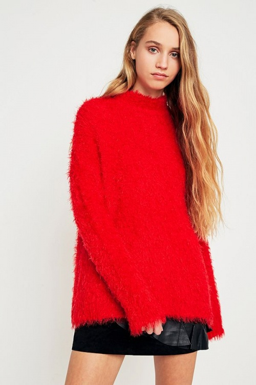 Urban Outfitters - Pull  rouge