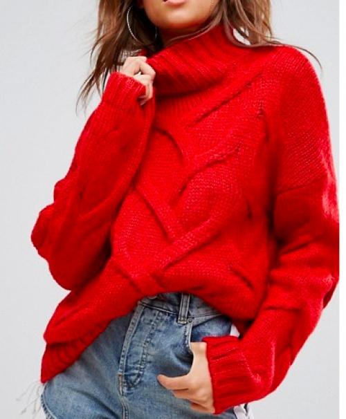 Boohoo - Pull rouge