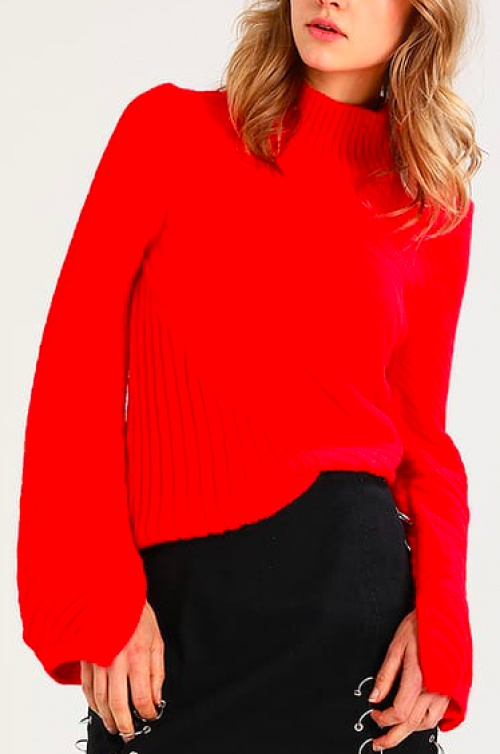 Topshop - Pull rouge