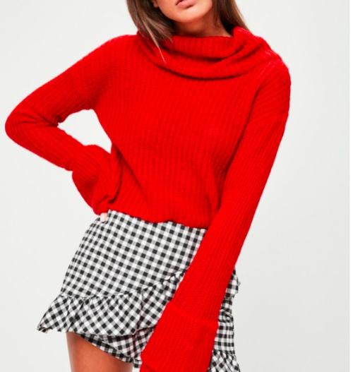 Missguided - Pull rouge