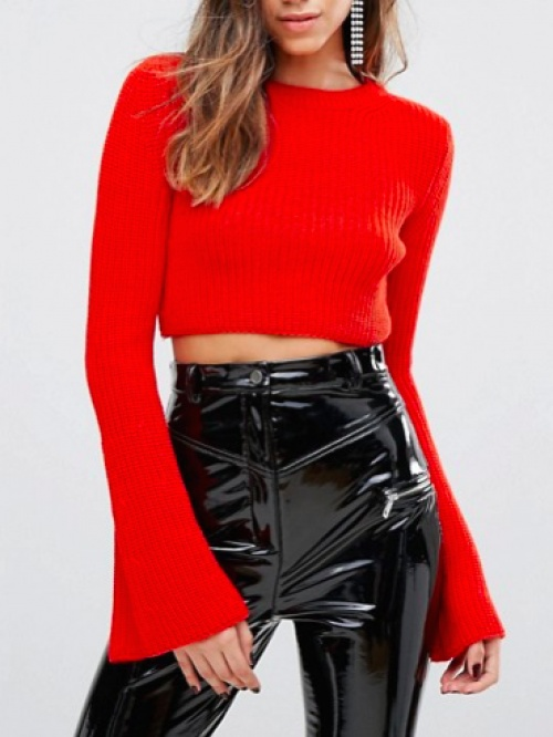 Miss Selfridge - Pull rouge