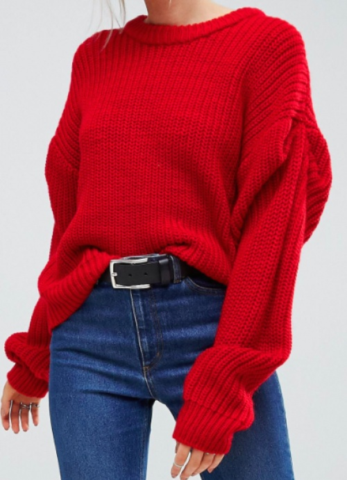 Asos - Pull rouge